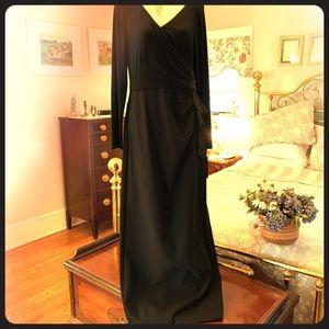 Ralph Lauren elegant evening gown